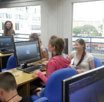 Russian students 3D workshop 11