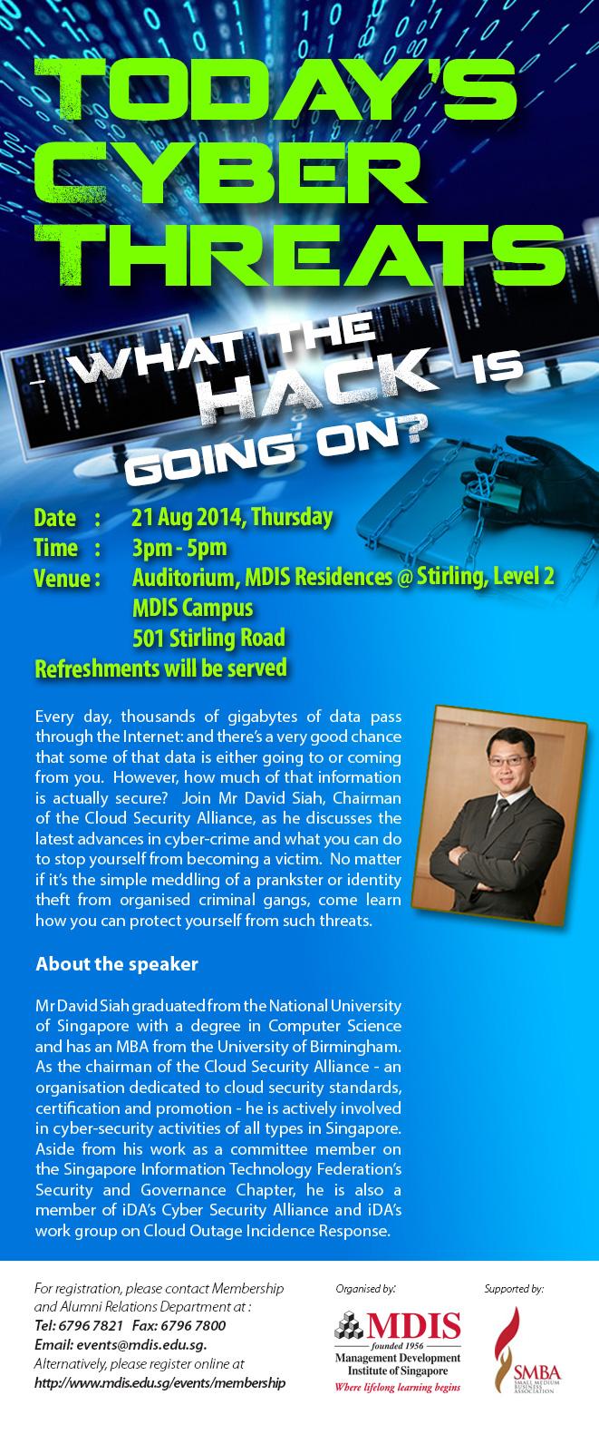 Cyber Attack Talk Preview Session