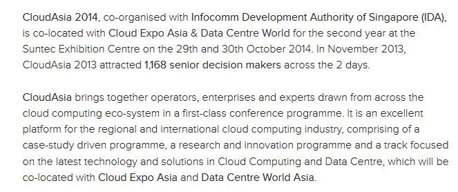 CloudAsia2014