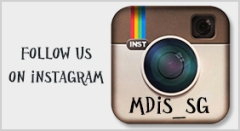 follow us on instagram: mdis_sg